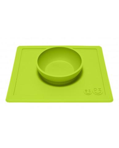 美國 ezpz Happy Bowl 快樂餐碗 (蘋果綠)