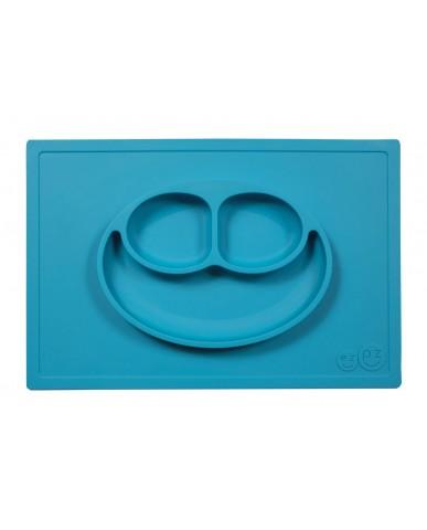 美國ezpz  Happy Mat快樂餐盤 (寶石藍)