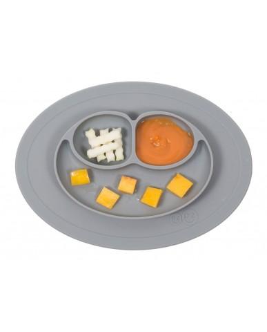 美國ezpz  Mini Mat迷你餐盤(簡約灰)