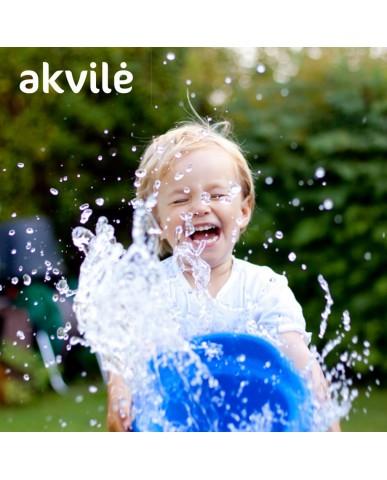 立陶宛 AKVILE 天然鹼性礦泉水1L