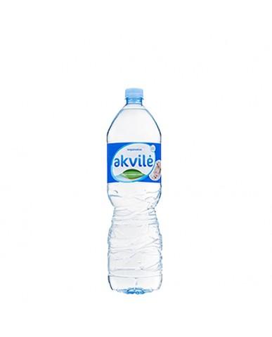 立陶宛 AKVILE 天然鹼性礦泉水1.5L