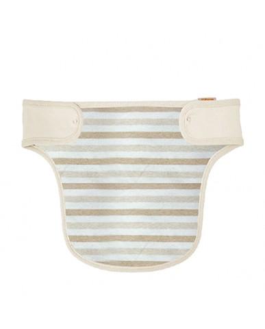 韓國Babyan 有機棉 背巾口水巾  條紋(胸前)