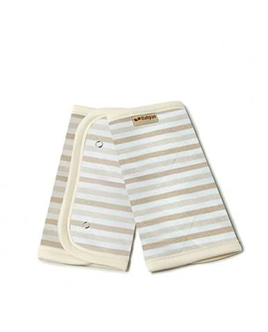 韓國Babyan 有機棉 背巾口水巾  條紋(兩側)