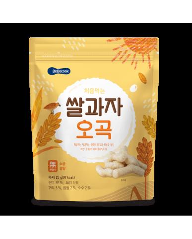 【BEBECOOK】寶膳 嬰幼兒穀物米棒(25g)