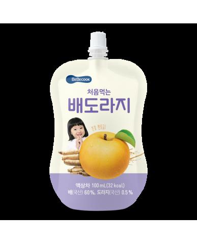 【BEBECOOK】寶膳 嬰幼兒雪梨桔梗汁(100ml)