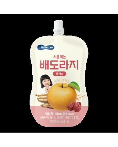 【BEBECOOK】寶膳 嬰幼兒雪梨紅棗桔梗汁(100ml)