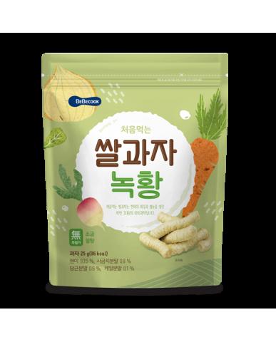 【BEBECOOK】寶膳 嬰幼兒蔬菜米棒(25g)