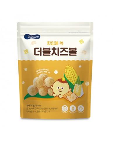 【BEBECOOK】寶膳 嬰幼兒玉米球-雙倍起司(25g)