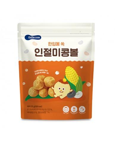 【BEBECOOK】寶膳 嬰幼兒玉米球-原味(25g)