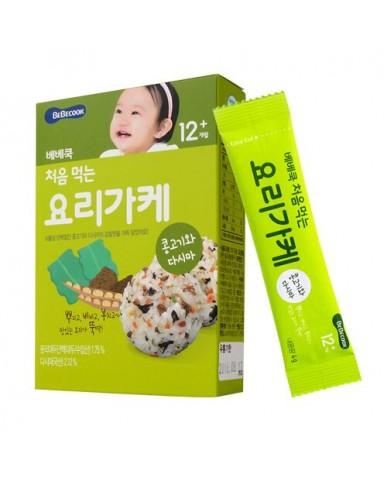 【BEBECOOK】寶膳 智慧媽媽 初食拌飯香鬆 牛肉蔬菜(28g)