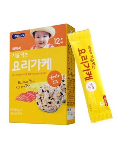 【BEBECOOK】寶膳 智慧媽媽 初食拌飯香鬆 鮭魚起司(28g)