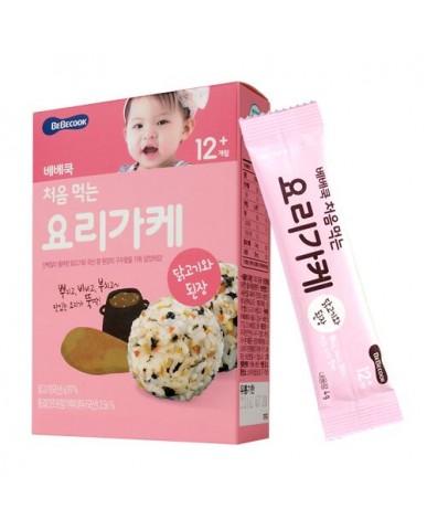 【BEBECOOK】寶膳 智慧媽媽 初食拌飯香鬆 雞肉韓式大醬(28g)