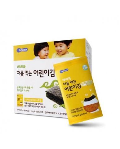 【BEBECOOK】寶膳 幼兒洋蔥海苔(一盒)