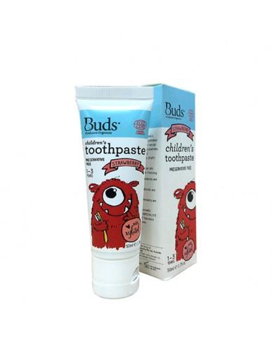 澳洲 Buds 木糖醇牙膏-草莓