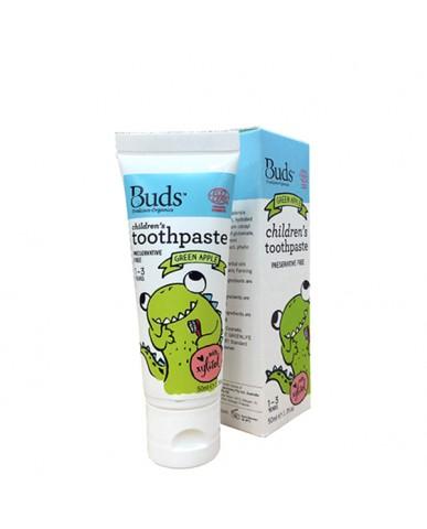 澳洲 Buds 含氟牙膏-青蘋果