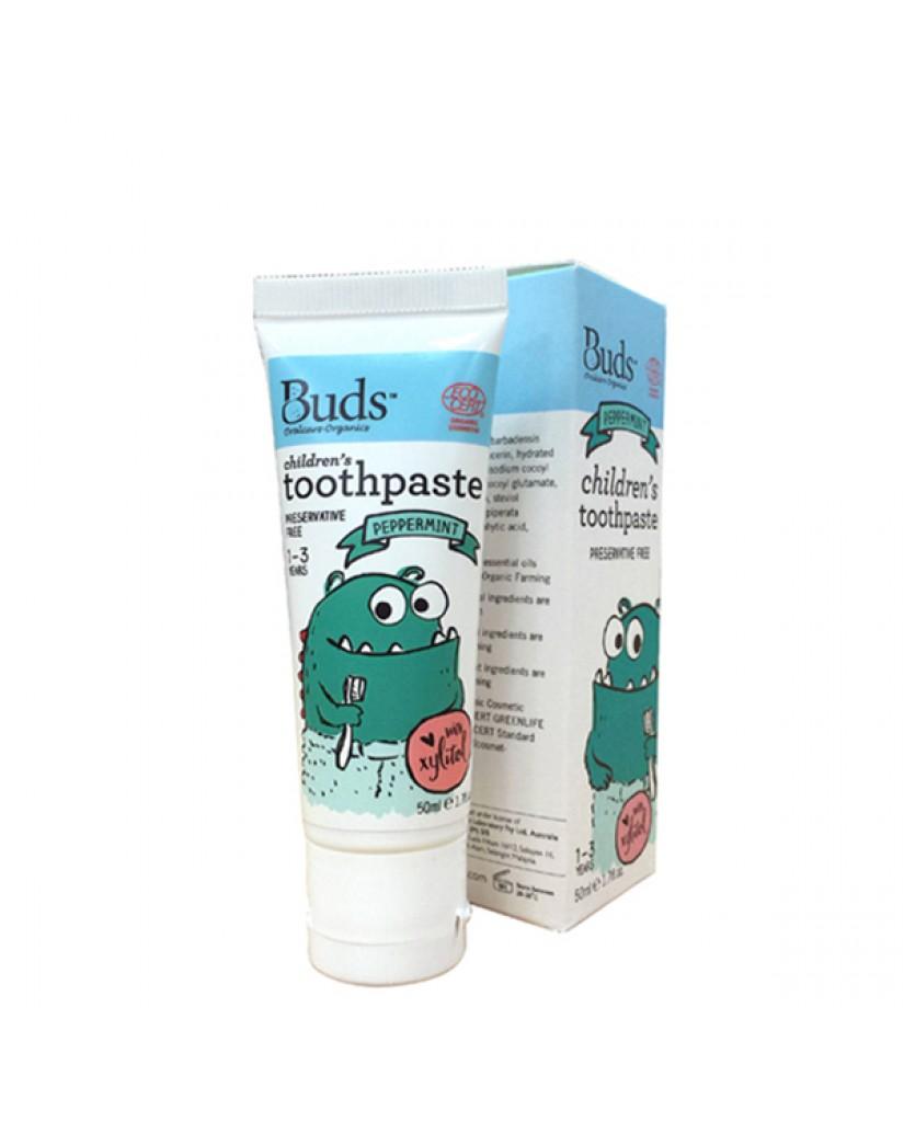 澳洲 Buds 含氟牙膏-薄荷