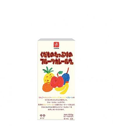 日本Canyon 兒童咖哩塊  水果咖哩