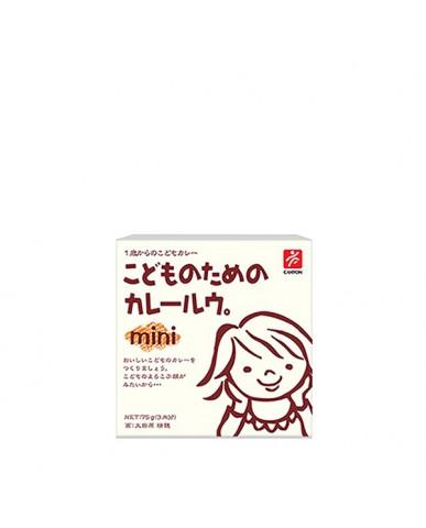 日本Canyon 兒童咖哩塊mini 原味咖哩