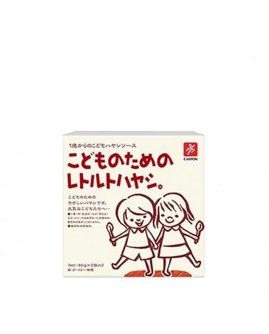 日本Canyon 兒童咖哩調理包 燉菜口味