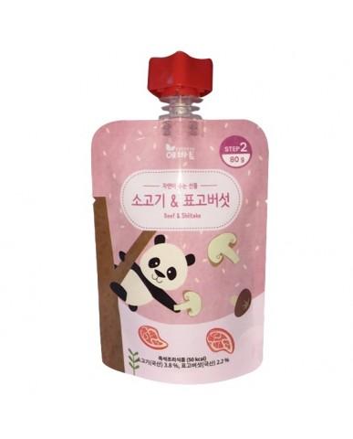 韓國 Evertto 愛兒多 嬰幼兒即食粥- 牛肉香菇(7m+) 80g