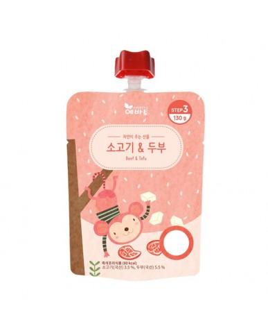 韓國 Evertto 愛兒多 嬰幼兒即食粥- 牛肉豆腐(9m+) 130g