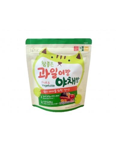 韓國Natural Choice自然首選 動物園幼兒果乾-綜合蔬果
