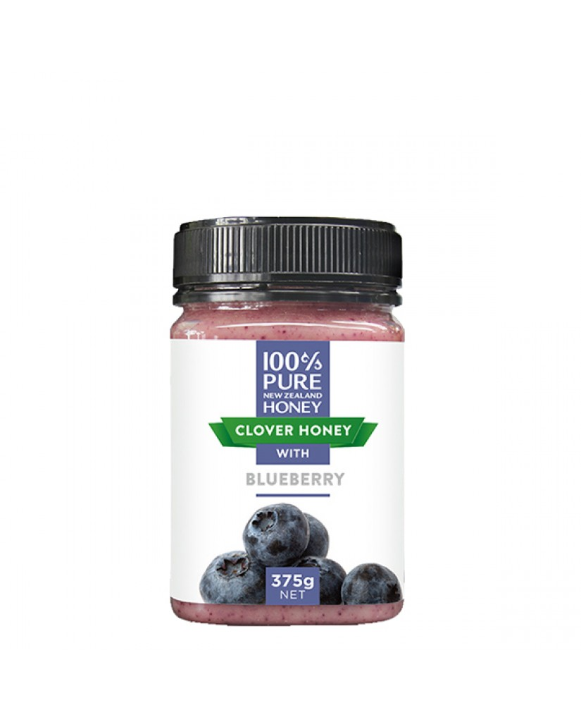 紐西蘭 紐西蘭恩賜 三葉草藍莓蜂蜜375g