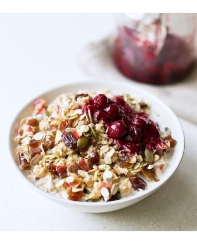 英國 Rude Health 天然水果即食燕麥