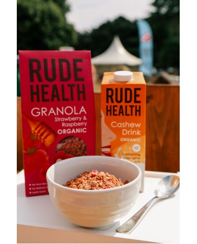 英國 Rude Health 有機天然草莓覆盆莓脆麥