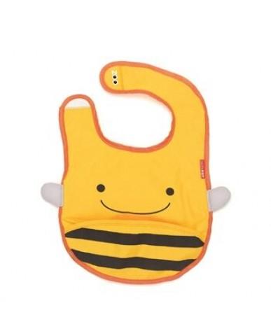 美國 SKIP*HOP 動物圍兜 - 小蜜蜂