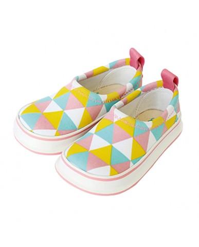 日本SKIPPON─兒童休閒機能鞋 三角幾何