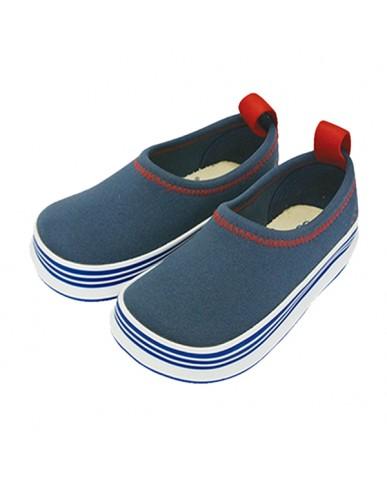 日本SKIPPON─兒童休閒機能鞋 百搭靛藍