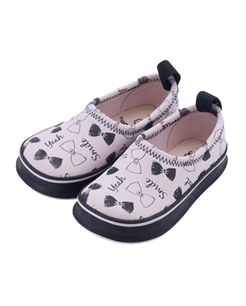 日本SKIPPON─兒童休閒機能鞋 粉紅蝴蝶結