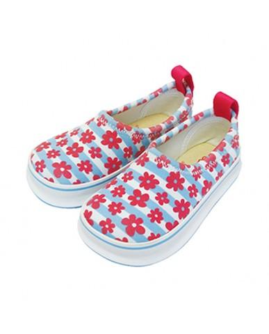 日本SKIPPON─兒童休閒機能鞋 甜美碎花