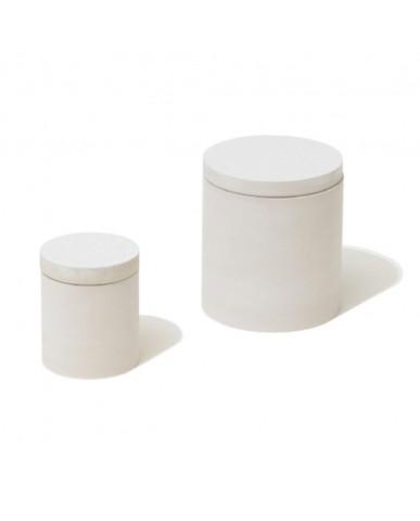日本Soil 食品收容器 圓形M-白色