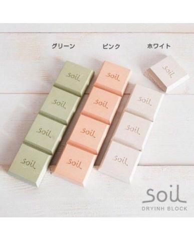 日本Soil 乾燥塊-白色