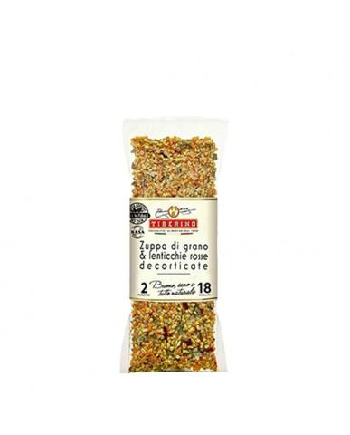 義大利TIBERINO義大利小麥紅扁豆鮮蔬濃湯