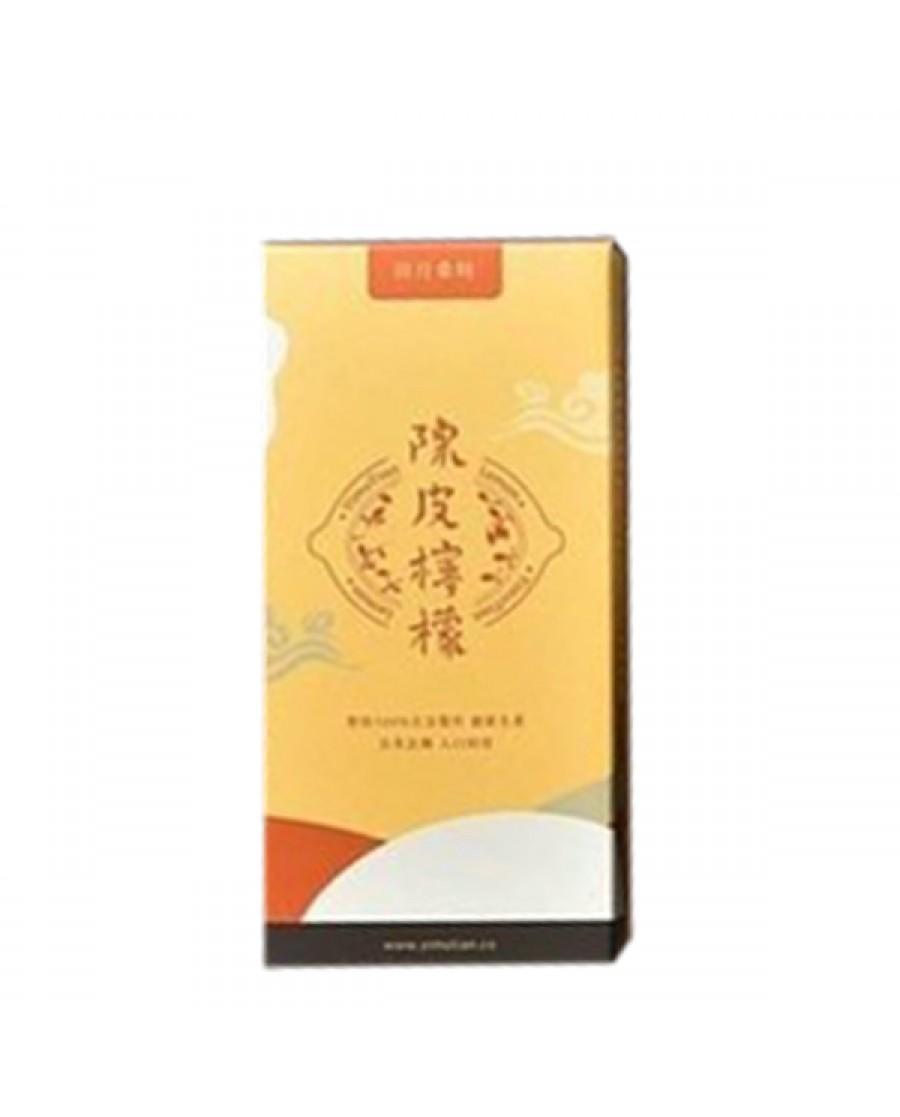 田月桑時 陳皮檸檬-隨身包 (10包/盒)