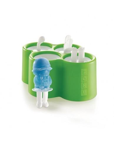 美國ZOKU 動物園冰棒模具組(四入裝)