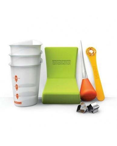 美國ZOKU 快速製冰棒工具組