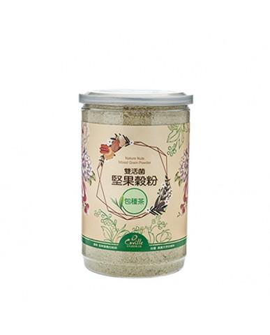 可夫萊 雙活菌堅果穀粉-包種茶550g