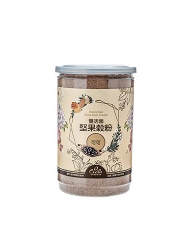 可夫萊 雙活菌堅果穀粉-可可550g
