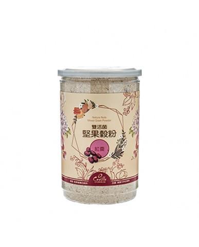 可夫萊 雙活菌堅果穀粉-紅棗550g