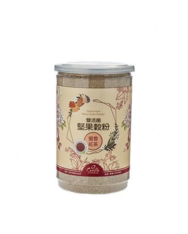 可夫萊 雙活菌堅果穀粉-蜜香紅茶550g