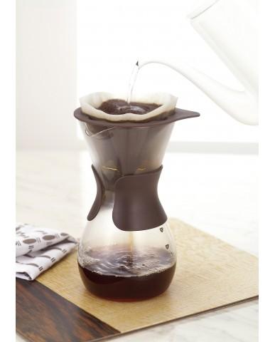 日本iwaki 耐熱玻璃滴漏式咖啡壺600ml
