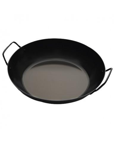日本 la base 有原葉子系列平底鐵鍋(雙耳) 30cm