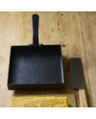日本 la base 有原葉子系列玉子燒平底鐵鍋 18cm