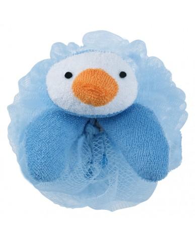日本MARNA 動物造型刷背泡泡海綿 (企鵝)