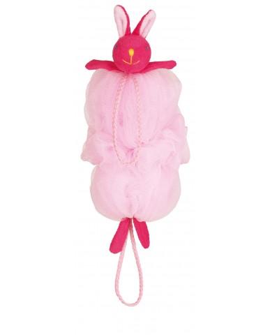 日本MARNA 動物造型刷背泡泡海綿 (兔子)