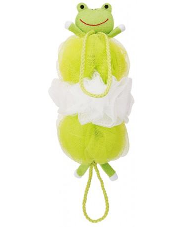 日本MARNA 動物造型刷背泡泡海綿 (青蛙)